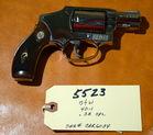 5523-S&W Mod 40-1, .38SPL, Nickel