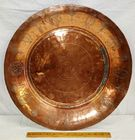 Early Copper ALMS TRAY with