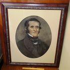 Original Pastel Portrait of Franklin