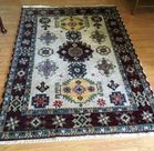 """SMALL CARPET POSSIBLY BALOUCH4'3"""" x 2'7"""""""