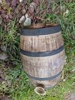 Small Stoneware Cask with bail Handle