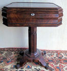 American Gothic Rosewood sewing stand