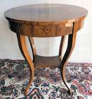 Biedermeier oval desk