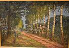 Oil on canvas Freund