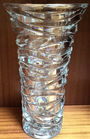 Large crystal vase retail by Tiffany