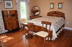 8 pc burled bedroom set