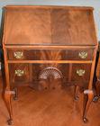 Fan carved desk