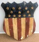 Antique American shield