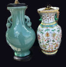 Decorative Asian style lamps