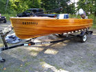 Cedar Strip Power Boat, runs like new