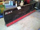 Black Line Standard Electric Snow Plow