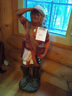 Hand Carved Native American Chief