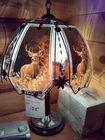 Glass Buck Table Lamp