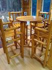 Beautiful 5 Pc High Table Set