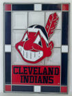 Stained Glass Chief Wahoo