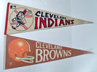 Sports Pennants, Cleveland