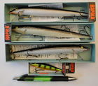 Some of His Rapala Lures In Boxes..