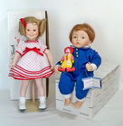 Bisque Dolls, Some in Boxes