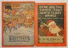 1929 & 31 Store Xmas Books