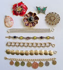 Cameo, Bracelets, Pins