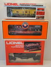Lionel Rolling Stock In Boxes