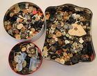 Vintage Buttons By The Tin