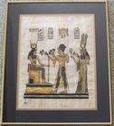 Ramses & Nefertari Making Offerings