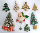 Christmas Pins, Vintage