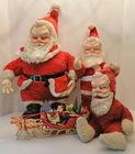 My Toy & Other Vintage Santas
