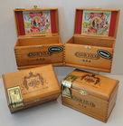 Flor-Fina Wooden Cigar Boxes