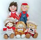 Campbell Kids Plush Dolls