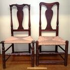 Two 18th c Side Chairs