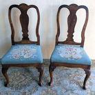 12 Queen Anne chairs