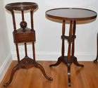 Occasional table & wig stand