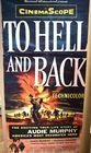 "Lot 39) 1955 Unversal poster ""To Hell an"