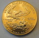 Reverse of Previous Gold Eagle