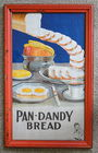 26 X 16 Framed Pan Dandy Bread Poster