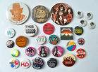 Rock Band Pinback Buttons