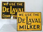 De Laval Milker Metal Signs