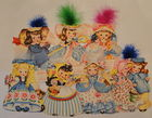Unused Vintage AG Doll Cards