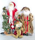 Santas, Holiday Decor