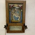 Antique Mother Mary painting