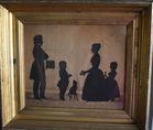 August Edouart fecit 1840 silhouette