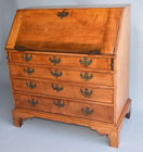 Antique Chippendale slant lid desk