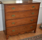 4 draw antique chest