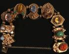 14k bracelet with fine stones