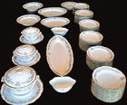 Buffet set with 55+ plates