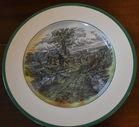 Set 12 Spode dinner plates