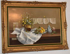 Deborah Jones Still life oil ptg