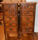 Pair French style MT sidetables